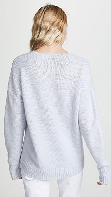 Theory Relaxed V Neck Pullover