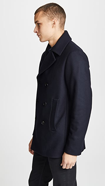 Theory Orchard Bungee Coat
