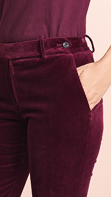 Theory Pintuck Trouser Pants