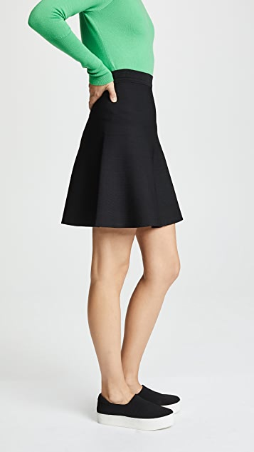 2c61be8d6d ... Theory Short Flare Skirt ...