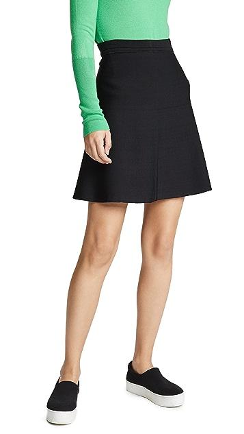 Theory Short Flare Skirt