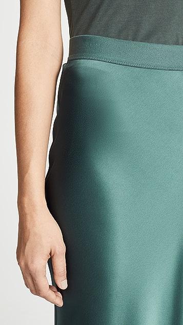 Theory Maxi Slip Skirt