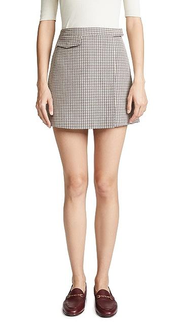 Theory Snap Miniskirt