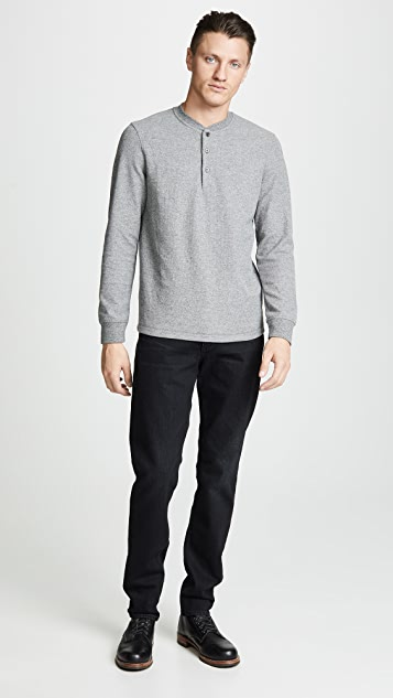 Theory Classic Long Sleeve Henley