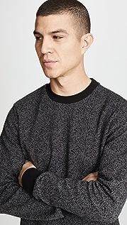 Theory Speckled Herringbone Sweatshirt