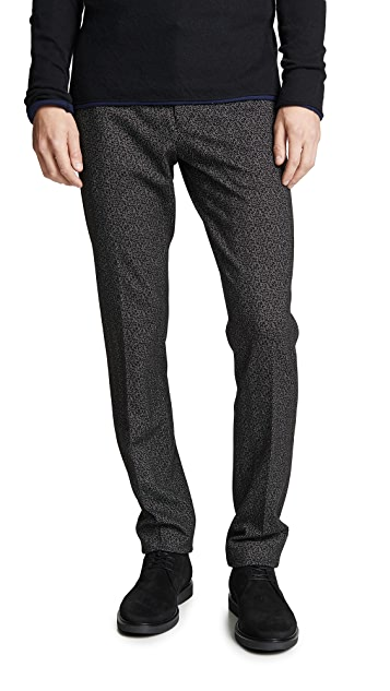 Theory Herringbone Ponte Pants