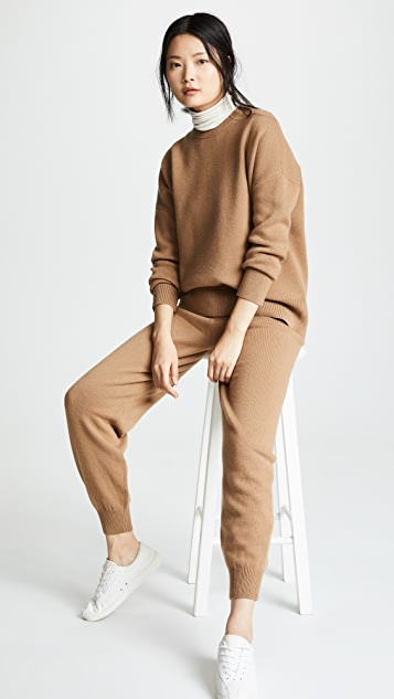 Theory Relaxed Drop Shoulder Sweater