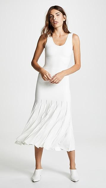 Theory Pleated Tank Dress