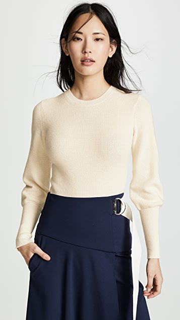 Theory Blouson Sleeve Sweater