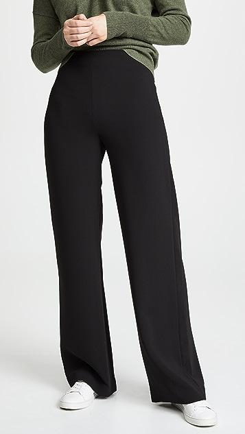 Theory Clean Wide Leg Pants