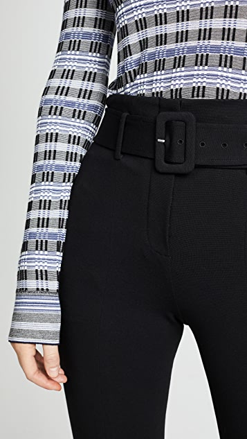 Theory Belted Cigarette Pants