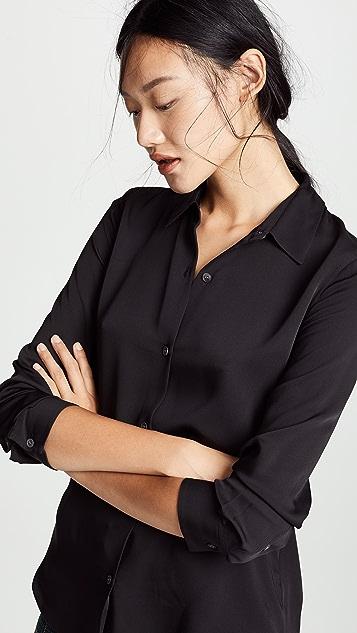 Theory Tenia 真丝女式衬衫