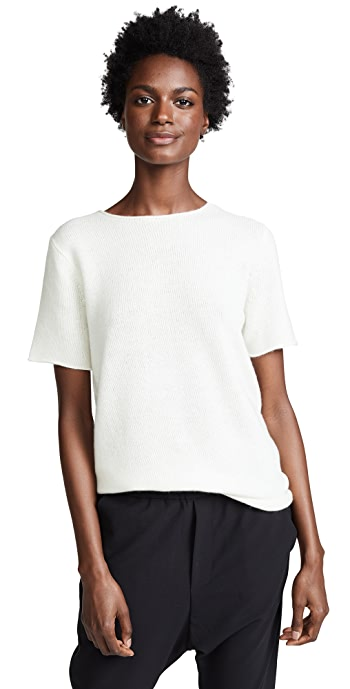 Theory Cashmere Tolleree Sweater - Ivory