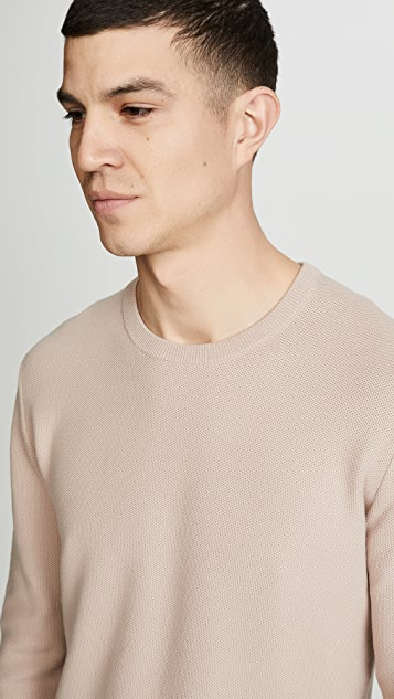 Theory Riland Piqué Sweater