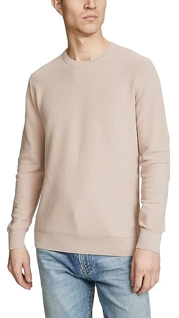 Theory Riland Piqué Sweater