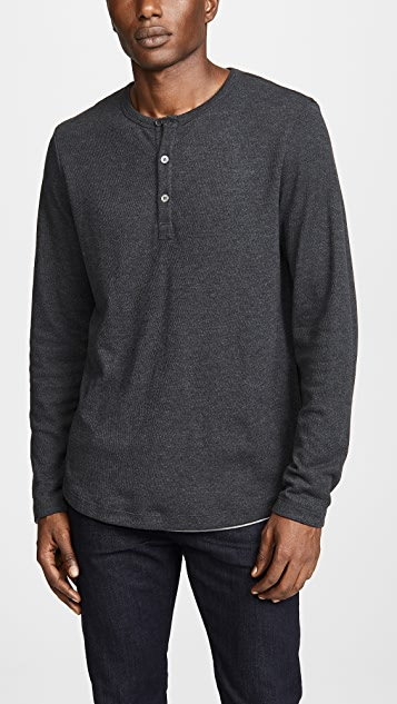 Theory Double Henley Tee