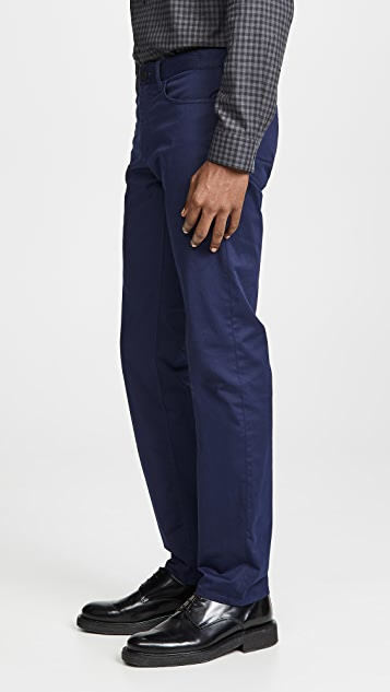 Theory Haydin Soft Sateen Trousers