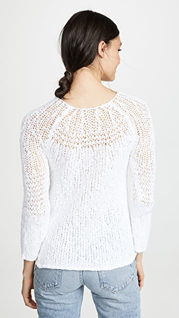 Theory Boatneck Pullover