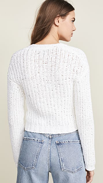 Theory Ribbed Cardigan