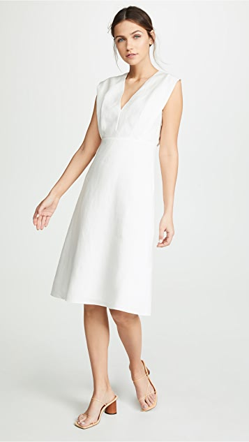 Theory Deep V Easy Dress