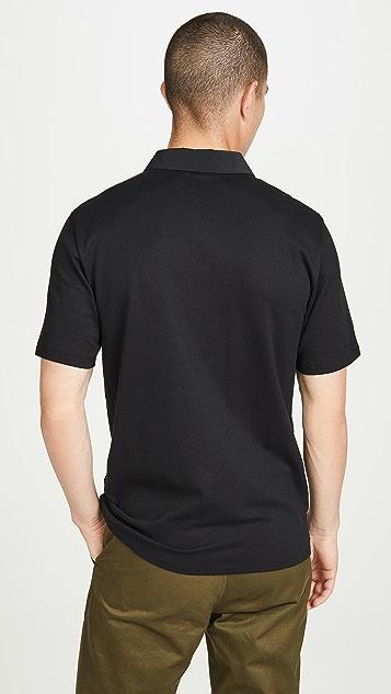Theory Short Sleeve Tech Polo Shirt