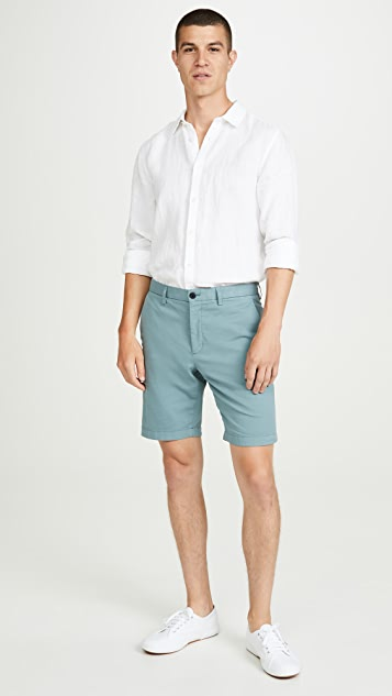 Theory Zaine Patton Stretch Shorts