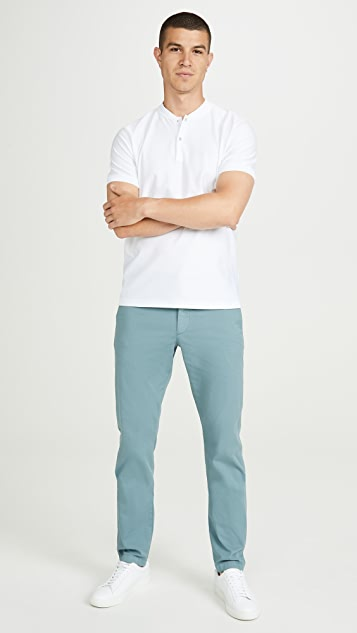 Theory Zaine Patton Cotton Stretch Trousers