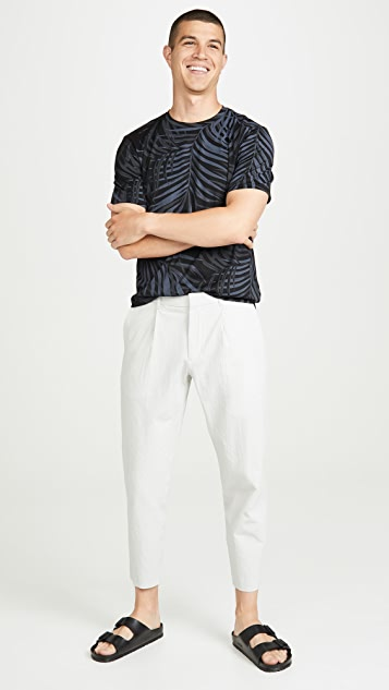 Theory Page Sadler Pleated Trousers