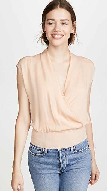 Draped Combo Top by Theory