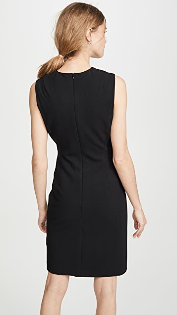 Theory Double Stretch Fitted Dress