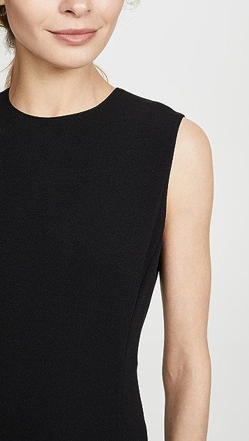 Theory Облегающее платье из двусторонней эластичной ткани