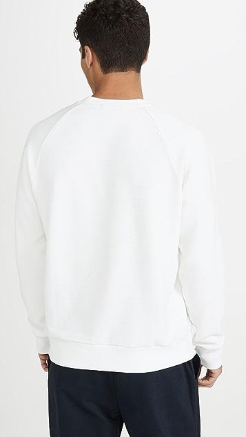 Theory Otto Raglan Long Sleeve Organic Sweatshirt