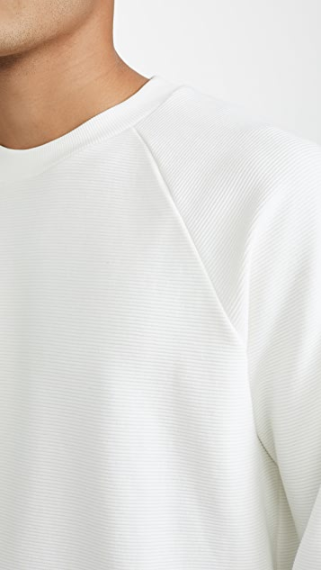 Theory Otto Raglan Long Sleeve Organic Sweatshirt