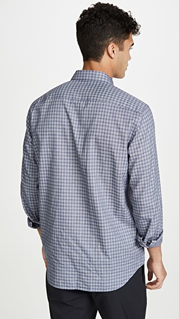 Theory Irving Visby Button Down Shirt