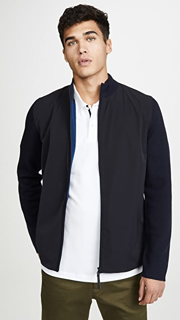 Theory Detroe Full Zip Track Jacket
