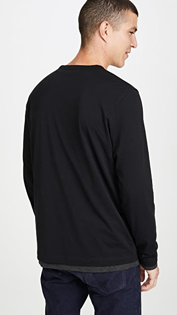 Theory Double Long Sleeve T-Shirt