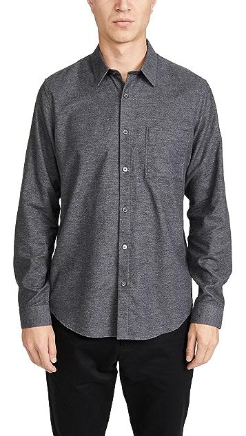 Theory Irving Denim Maxson Button Down Shirt