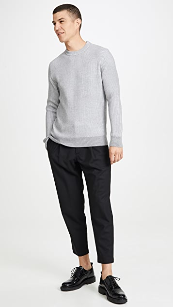 Theory Page Gearheart Pleated Cropped Trousers