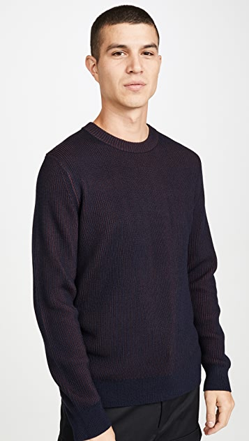 Theory Rennes Cashmere Wool Crew Neck Sweater