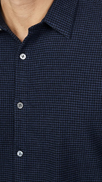 Theory Irving Multi Beacon Button Down Shirt