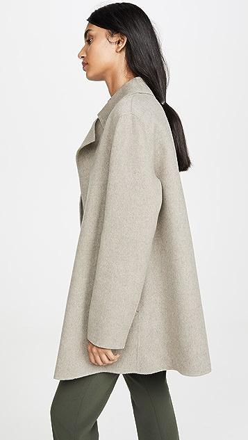 Theory Overlay DF Coat