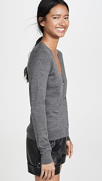 Theory V Neck Cardigan
