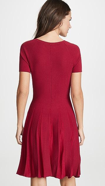 Theory Pleated Tee Dress