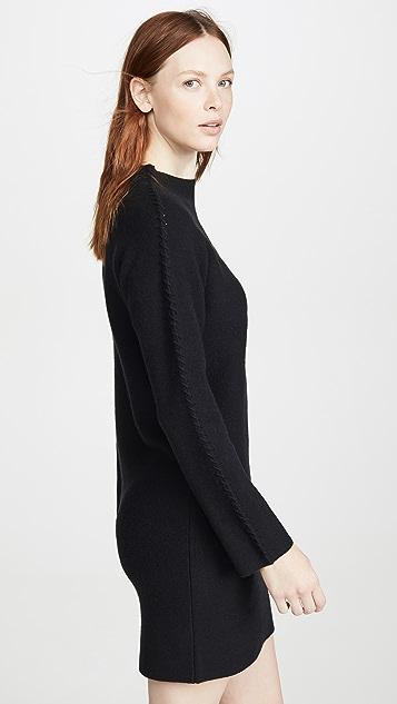 Theory Kimono Turtleneck Dress
