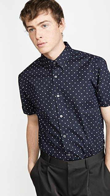 Theory Irving Short Sleeve Shirt