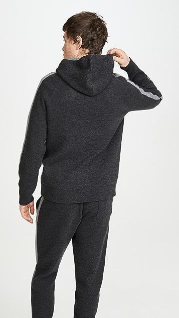 Theory Lounge Wool Cashmere Hoodie