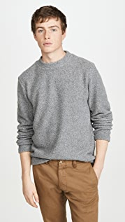 Theory Birch Tech Wool Cashmere Sweater