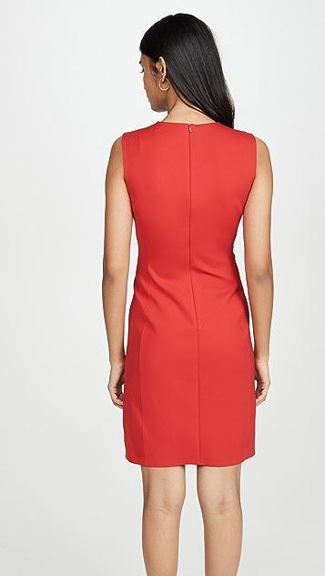 Theory Приталенное платье без рукавов