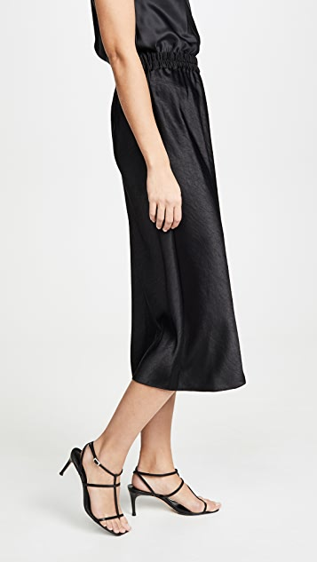 Theory Easy Pull On Skirt