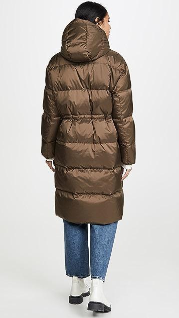 Theory Reversible Puffer Coat